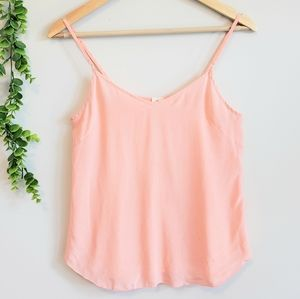 🌻2/$30 Wilfred Peach Silk Cami